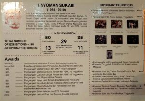 Posthumous Solo Exhibition Of I Nyoman Sukari