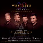 """The Twenty Tour"" Westlife Borobudur Symphony in Magelang 31 Agustus 2019"