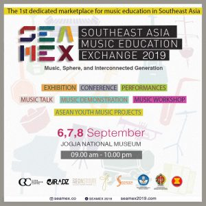 Helatan SEAMEX 2019 -Southeast Asia Music Education Exchange di Yogyakarta