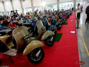 Lebarannya Scooteris di Indonesian Scooter Festival 2019