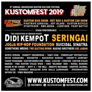 KUSTOMFEST 2019 Usung Tema Back To The Roots