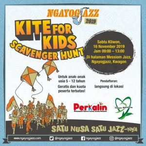 Kite For Kids at Ngayogjazz 2019