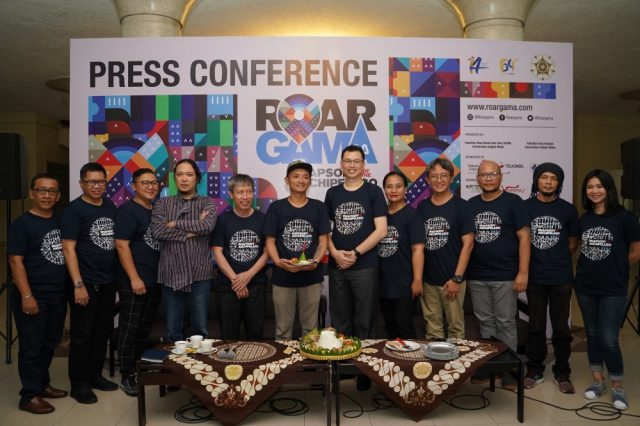 Press Conference Gamelan 4 ROAR GAMA 4.0
