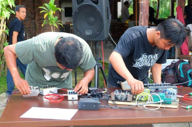 Anxiety live at Jogja Noise Bombing 2017. Picture by Dea Karina