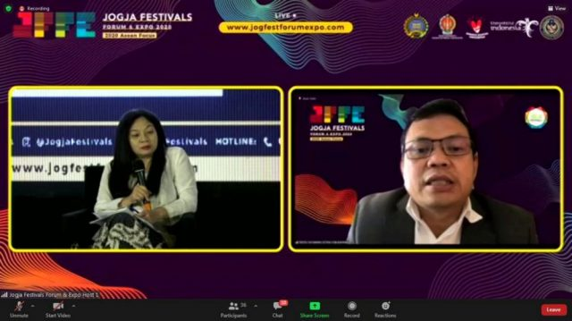 Opening Jogja Festivals Forum And Expo 2020